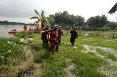 Perahu Terbalik di Sungai Berantas, 2 Korban Ditemukan Meninggal