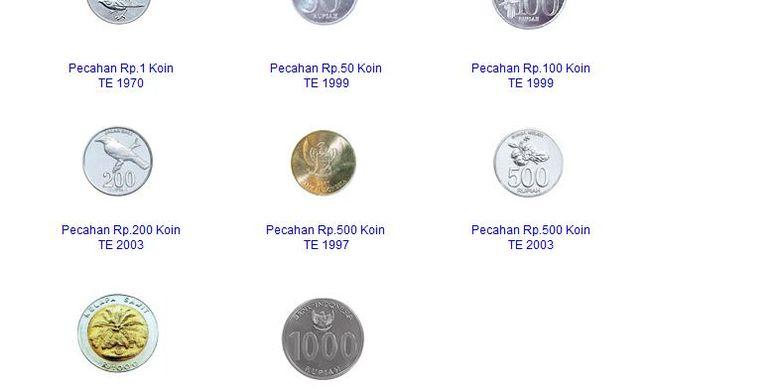 Gambar Uang Koin 500 Rupiah Selain Uang Koin Rp 1 000 Kelapa Sawit Berikut Daftar 7 Uang