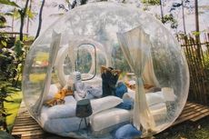 Spot Instagramable di Nira Camper Village, Bubble Tent Pertama di Yogyakarta