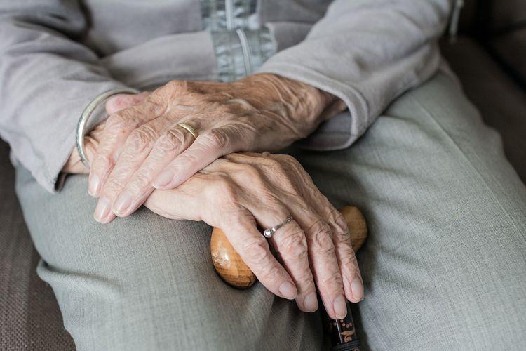 Ilustrasi lansia, kesehatan lansia.