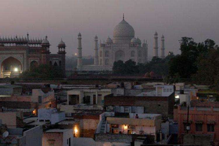 Taj Mahal di India.