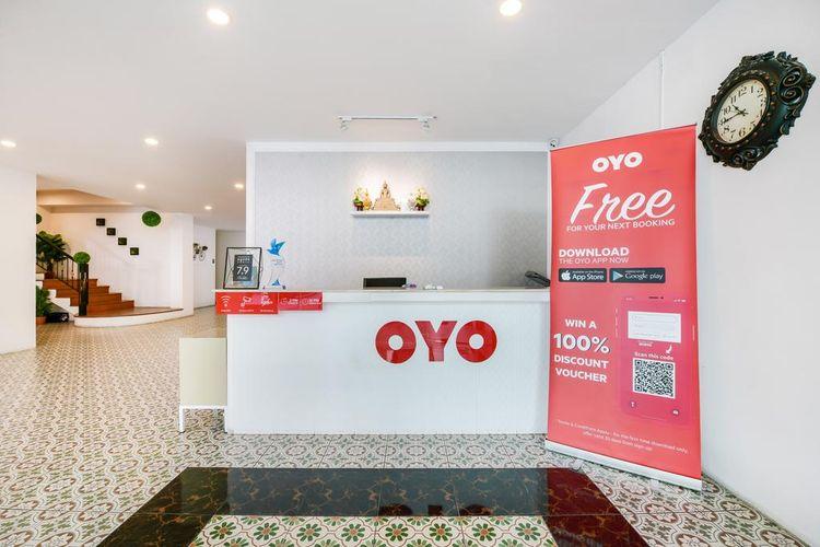 Salah satu hotel Oyo di Pattaya, Thailand.