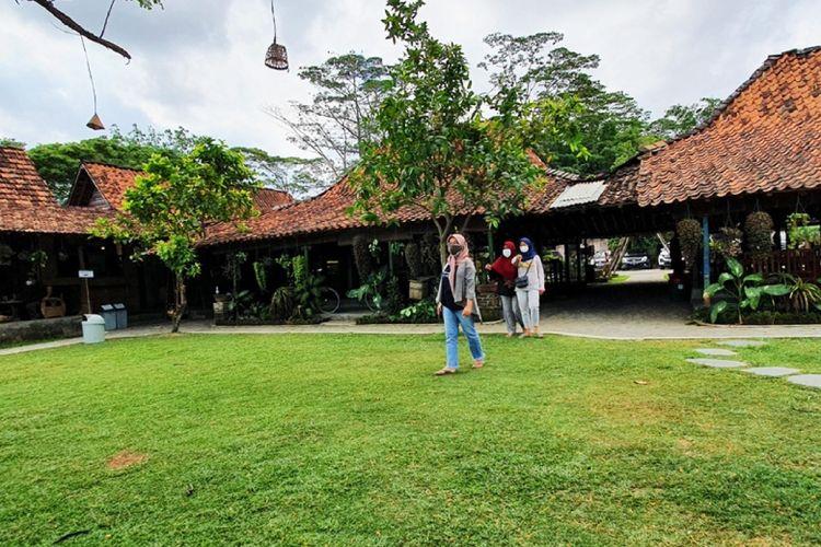 Suasana Kampung Mataraman, di Desa Panggungharjo, Kecamatan Sewon, Kabupaten Bantul, Daerah Istimewa Yogyakarta (DIY).