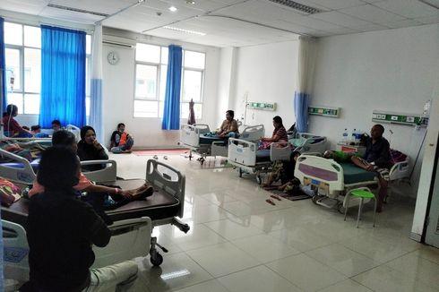 Biaya Pengobatan Korban Diduga Keracunan Makanan yang Dirawat di RSUD Kertosono Digratiskan