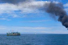 8 Kapal Vietnam Diledakkan di Perairan Pulau Datuk