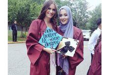 Kenakan Hijab, Siswi Inggris Raih Gelar Busana Terbaik