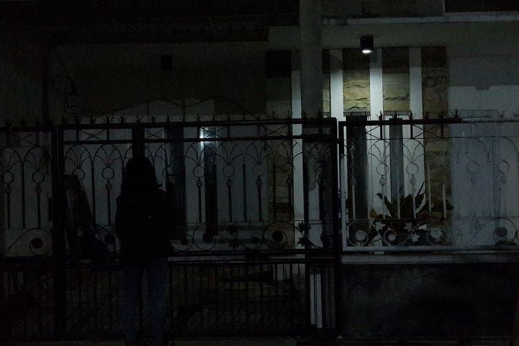 Rumah terduga teroris di Kelurahan Tulus Rejo, Kota Malang, Selasa (15/10/2019)