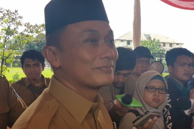 Dirjen Dukcapil Kemendagri Zudan Arif Fakrulloh saat ditemui wartawan di kantornya, Pasar Minggu, Jakarta Selatan, Selasa (7/1/2020).