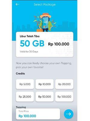 Paket Libur Telah Tiba dari By.U Telkomsel.