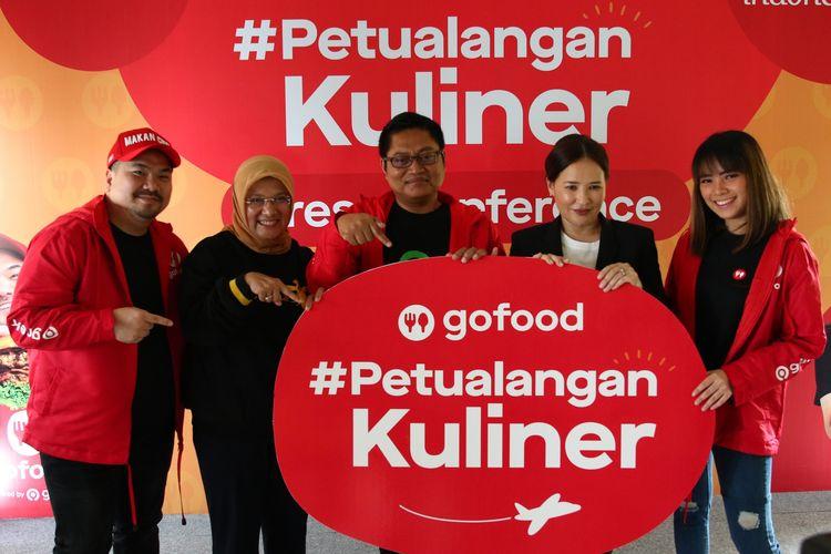 GoFood bersama Kementerian Pariwisata dan Ekonomi Kreatif, Discovery Asia-Pasifik, Magdalena dan Nex Carlos bersinergi mempromosikan kuliner Indonesia di mata dunia lewat program Petualangan Kuliner.