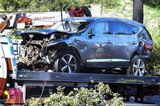 Kronologi Kecelakaan Tiger Woods, Mobil Terguling Beberapa Kali, Bumper Hancur