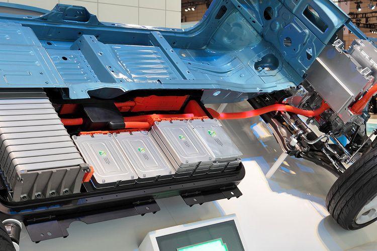Baterai Mobil Listrik Nissan Leaf
