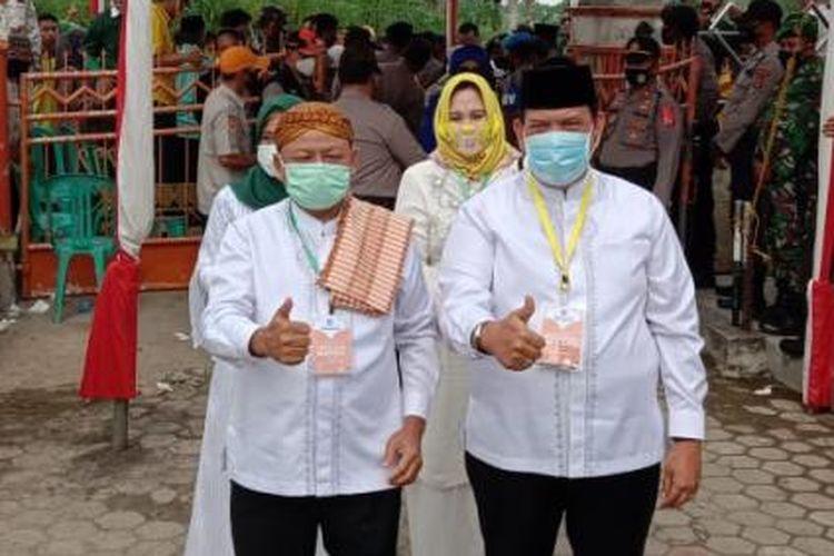 Pasangan Nomor Urut 3, Dawam Raharjo ? Azwar Hadi. (FOTO: Dok. PKB Lampung)