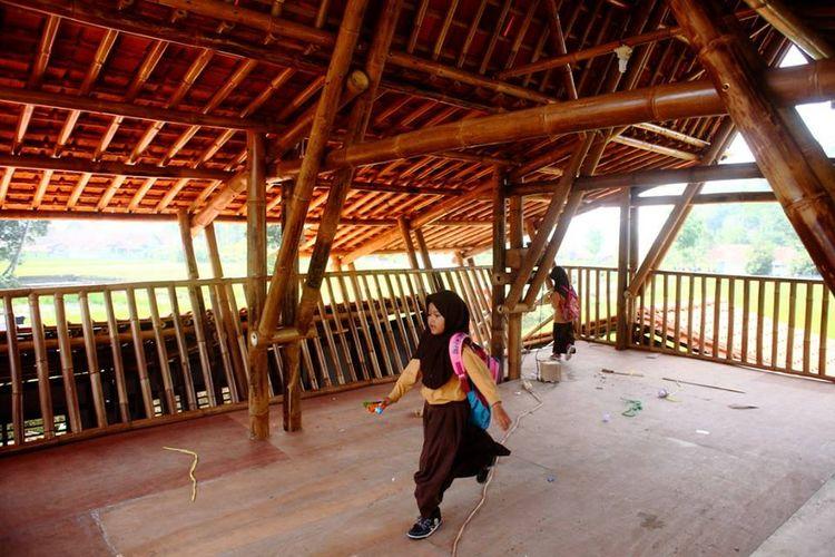 Salah stau ruangan di PAUD Nurhikmat, Tasikmalaya