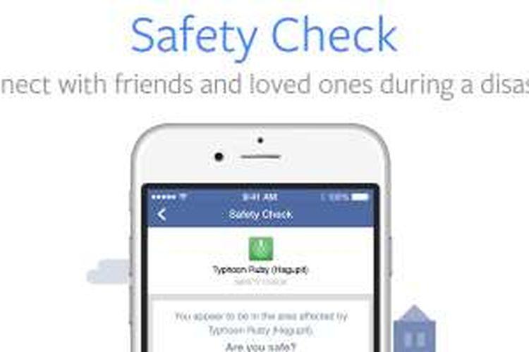 Facebook Safety Check.
