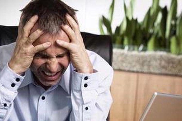 Ilustrasi gejala stroke