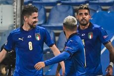 Italia Catat Rekor 22 Laga Tak Terkalahkan, Terbaik sejak 2006