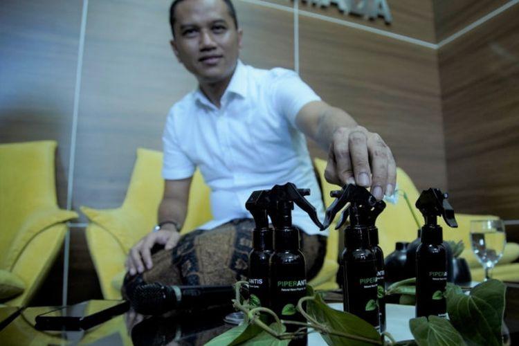 Dosen Ugm Ciptakan Hand Sanitizer Berbahan Daun Sirih Hijau Tanpa