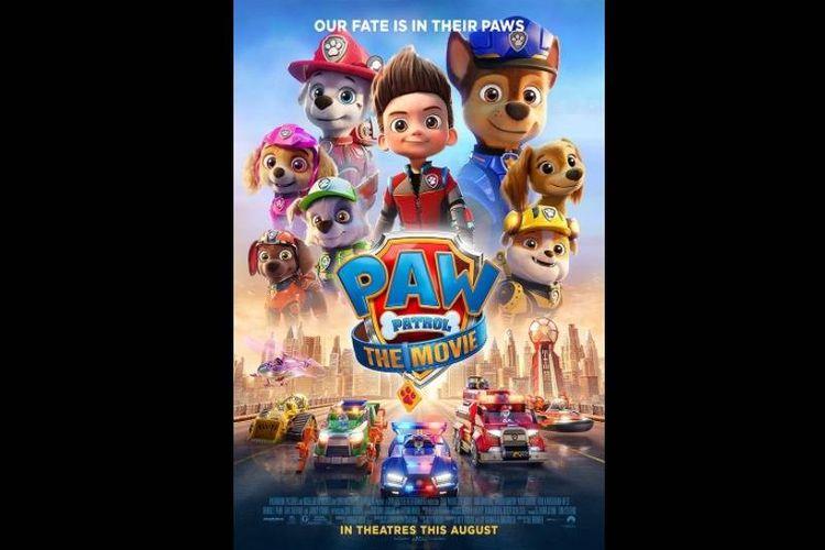 Poster film Paw Patrol: The Movie (2021)