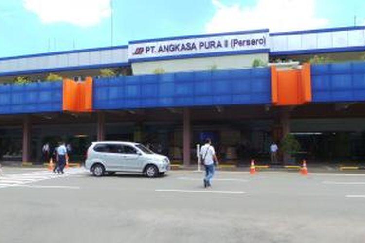 Suasana Bandara Halim Perdanakusuma di Jakarta Timur