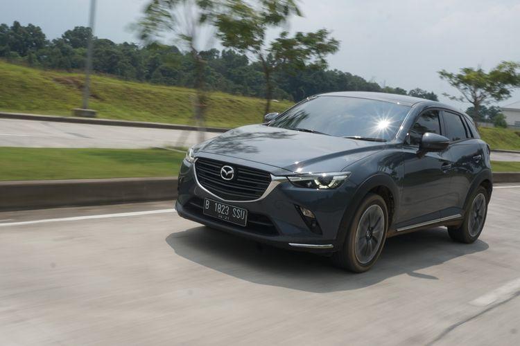 Mazda CX-3 1.5L. Model ini menjadi SUV termurah Mazda yang hadir di Indonesia