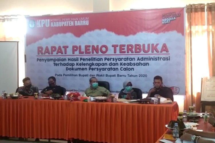 Bakal Calon Wakil Bupati Barru, Digugurkan KPU