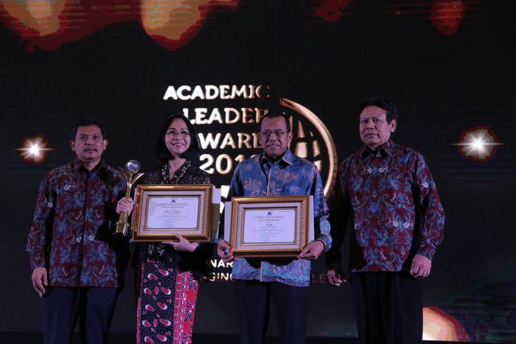 Direktorat Jenderal Sumber Daya Iptek dan Dikti (SDID) Kemenristekdikti menggelar Academic Leader Award 2019 di Jakarta (1/10/2019). Penghargaan Academic Leader 2019 diberikan untuk akademisi, khususnya dosen yang telah berkontribusi dalam kemajuan pendidikan tinggi Tanah Air.
