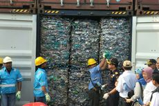 RI Sudah Pulangkan 331 Kontainer Sampah Plastik Impor, Ini Negara Asalnya