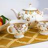 Cara Membersihkan Noda Teh pada Peralatan Minum Porselen