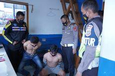 Fakta Polisi Ditabrak Pengendara Motor, Bawa Sabu hingga Pelaku Diamankan