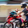 Bahaya, Jangan Bonceng Anak Kecil di Jok Depan Motor