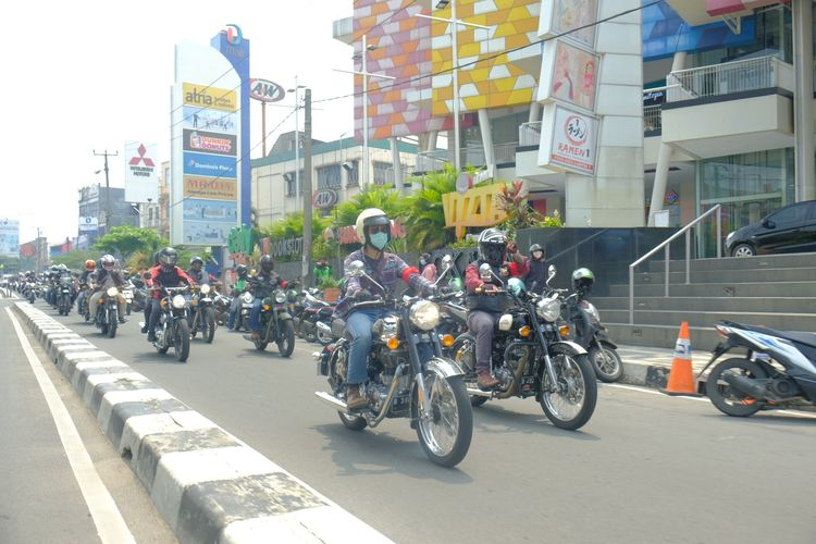 Fun Day Rally yang digelar oleh Royal Enfield Nusantara