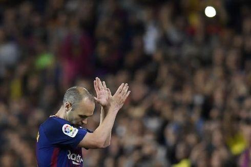 Andres Iniesta Isyaratkan Kembali ke Barcelona sebagai Pelatih