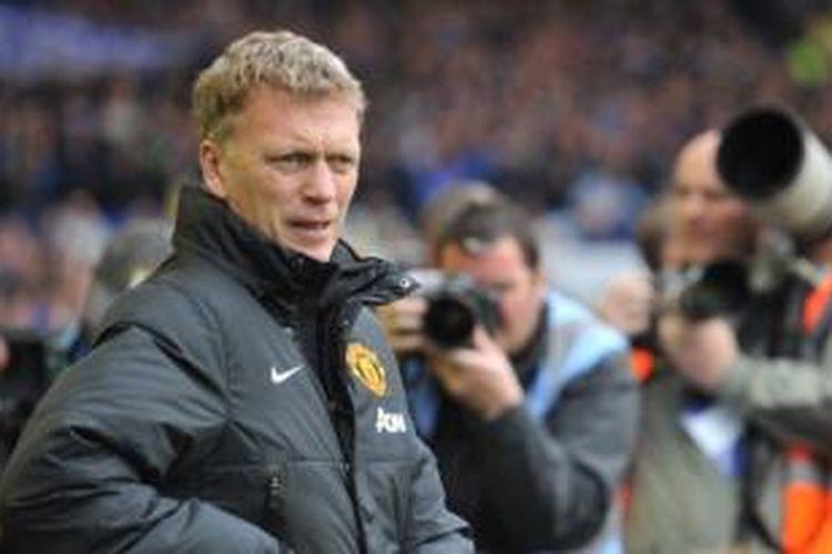 Manajer Manchester United, David Moyes.