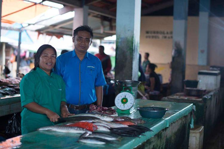 Pelaku UKM di Maluku Utara yang mendapat pinjaman modal dari Antam.