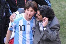 Kisah Bersejarah di Balik Selebrasi Lionel Messi untuk Maradona