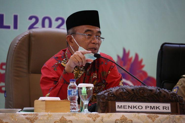 Menko PMK Muhadjir Effendy dalam kunjungannya ke Papua dan Papua Barat, Selasa (7/7/2020),