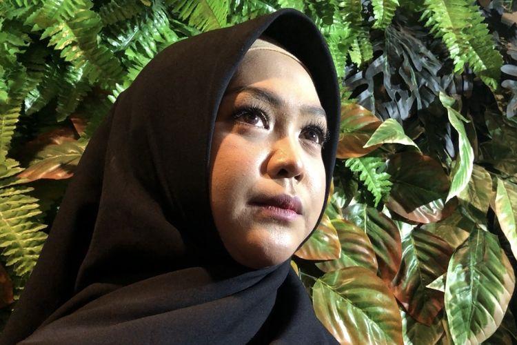 Ria Ricis saat ditemui di KCM Jatiasih, Bekasi, Kamis (27/2/2020).