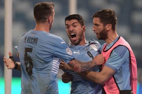 Hasil Copa America Uruguay Vs Chile, Luis Suarez Selamatkan La Celeste