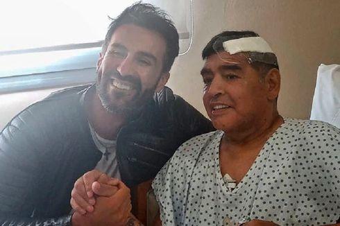 Diego Maradona Tinggalkan