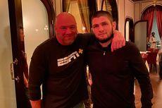Presiden UFC Bakal Temui Khabib di UEA, Sinyal Comeback The Eagle?