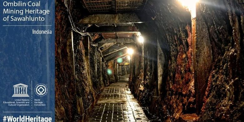 Tambang Batubara Ombilin Sawahlunto jadi Warisan Dunia UNESCO.