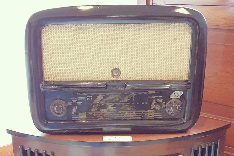 Salah satu koleksi di Museum Radio Antik Bandung DOK, Instagram.com/dennyvwbdg