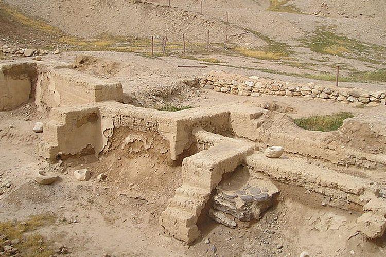 Fondasi kuno yang ditemukan di Yerikho