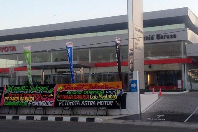 Dealer Barusa Meulaboh memperkuat jaringan Toyota di Nanggroe Aceh Darussalam.