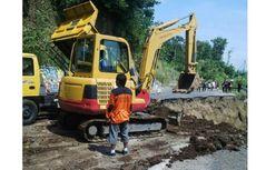 Kementerian PUPR Memulai Penanganan Jalan Amblas di Brebes Hari Ini