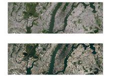 Foto Permukaan Bumi Google Maps Semakin Bening