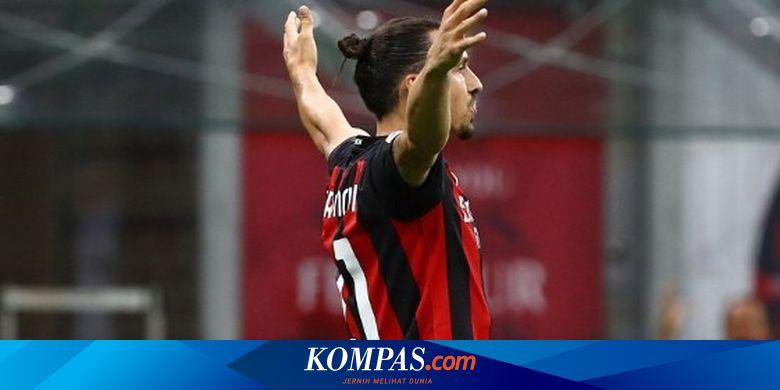 AC Milan Vs Cagliari - Gagal Penalti, Ibra Tetap C