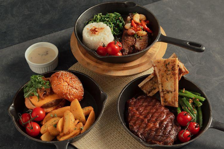 Menu baru dari Dok. Steak Hotel by HOLYCOW! TIga menu dari Holycow?s Kitchen Takover.
