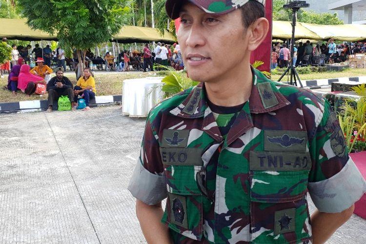 Kapendam XVII/Cenderawasih Kolonel Cpl. Eko Daryanto